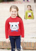 Sirdar Wash 'n Wear Double Crepe - 2399 Jumpers Knitting Pattern